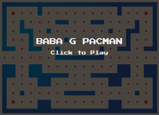 Baba G pacman image